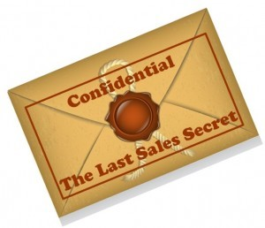 Confidential Sales Secret