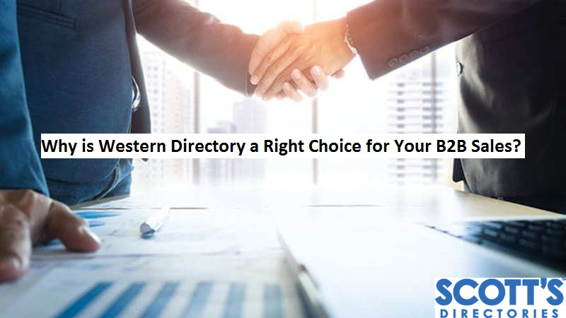 Why is Western Directory a Right Choice for Your B2B Sales?
